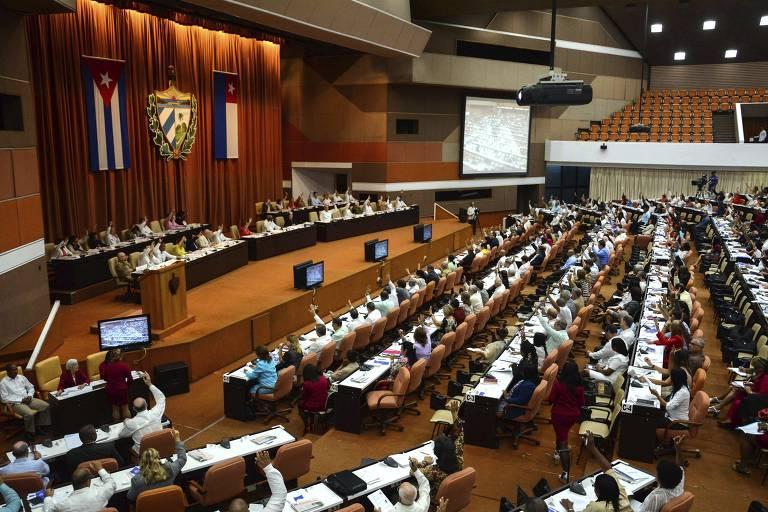 Plenário da  Assembleia Nacional