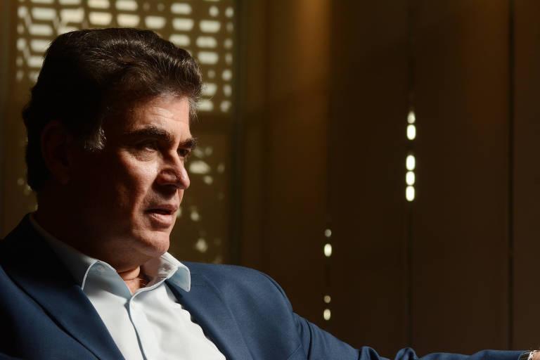 José Ricardo Roriz Coelho, presidente em exercício da Fiesp (Federação das Indústrias do Estado de São Paulo), durante entrevista à Folha