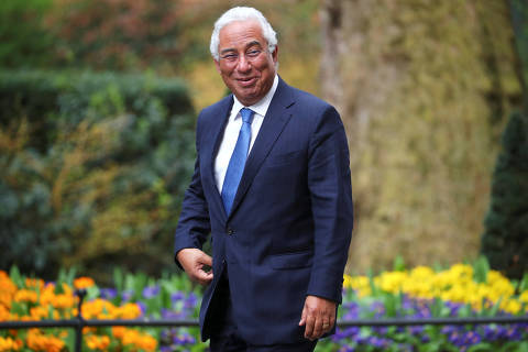 FILE PHOTO: Portugal's Prime Minister Antonio Costa arrives outside 10 Downing Street to meet Britain's Prime Minister Theresa May in London, April 10, 2018. REUTERS/Hannah Mckay/File Photo ORG XMIT: FW1