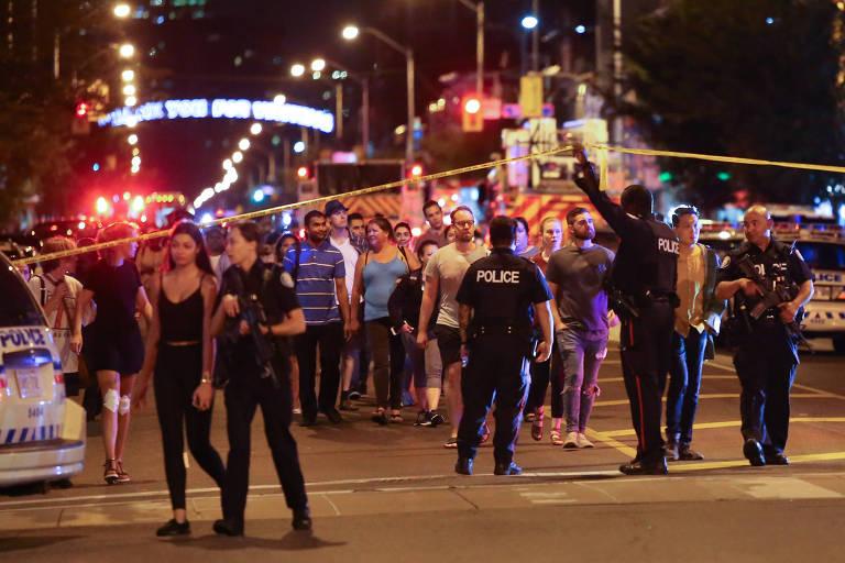 Ataque a tiros em Toronto