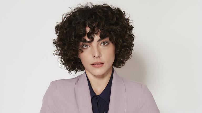 A atriz Júlia Konrad, que interpretará Amanda na série