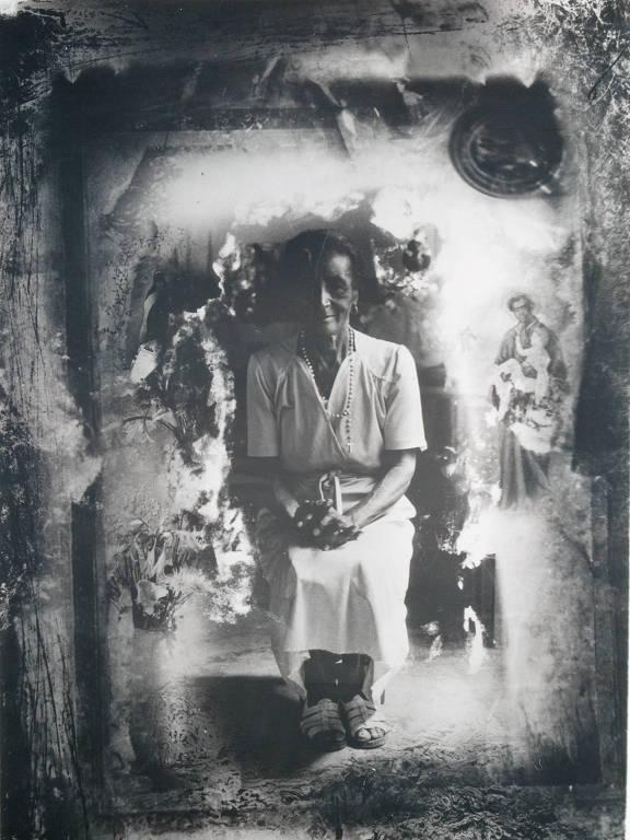"""Obra de Eustáquio Neves na mostra """"Isso é Coisa de Preto"""", do Museu Afro Brasil"""