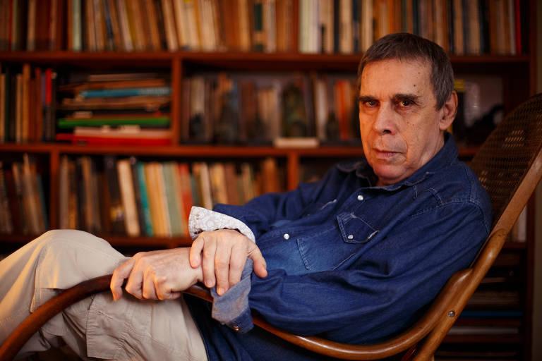 O escritor Sérgio Sant'Anna