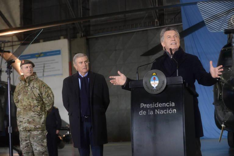 Argentina libera atuação de militares na segurança doméstica
