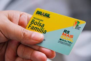 Vista do Cartão Bolsa Família da Caixa Econômica Federal