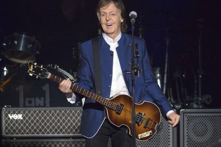 Paul McCartney se apresenta mais uma vez no Brasil