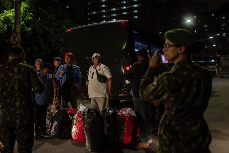Refugiados venezuelanos chegam a São Paulo