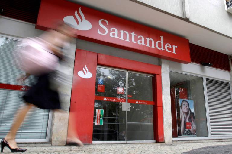 Mensagem do Santander deseja 'bom retorno e até amanhã' para funcionários