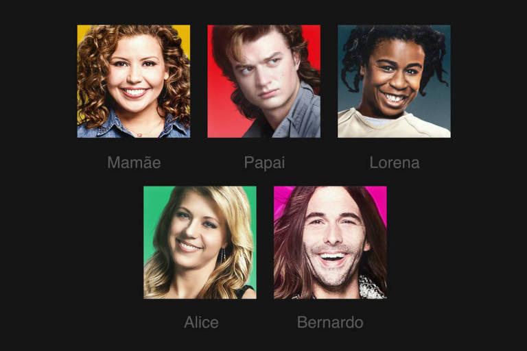 Perfis Netflix customizados após atualização da plataforma