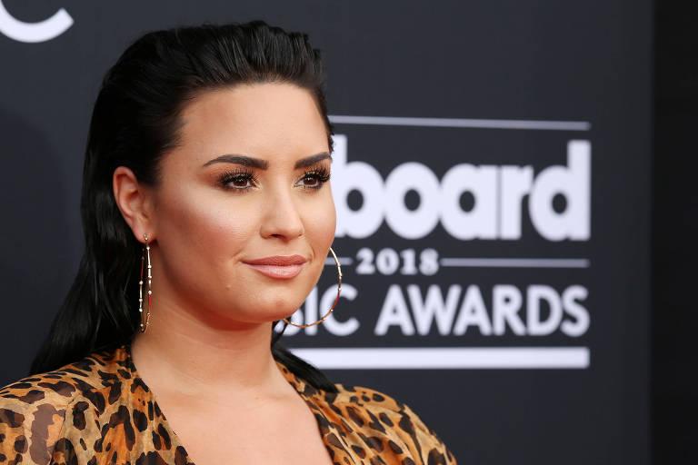 A cantora e atriz Demi Lovato, 26