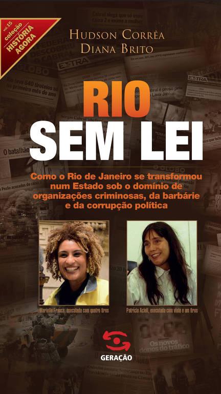 """Capa do livro """"Rio Sem Lei"""""""
