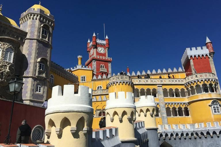 Palácio da Pena, em Sintra, tem entrada grátis para jornalistas e descontos para estudantes e idosos