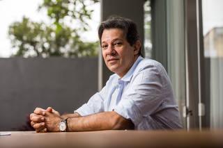 Entrevista com o ex-prefeito de São Paulo, Fernando Haddad do PT