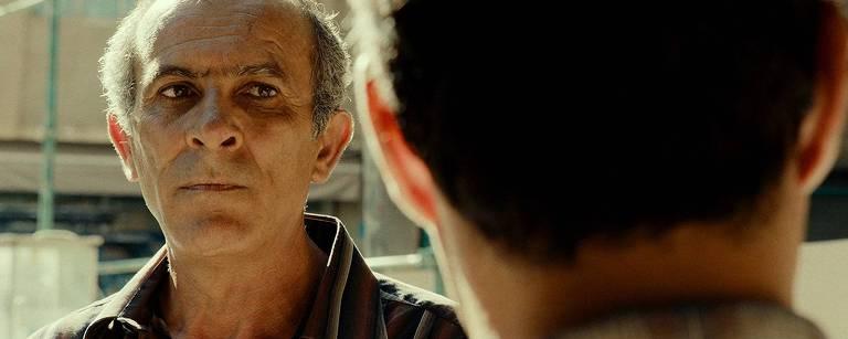 """O ator Kamel El Basha em cena do filme """"O Insulto"""""""