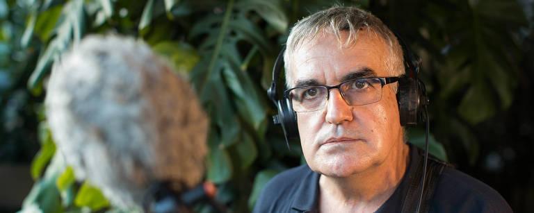 O sonoplasta português Vaco Pimentel está no Brasil a convite da Flip. Seu ultimo trabalho no cinema foi o filme Vazante de Daniela Thomas