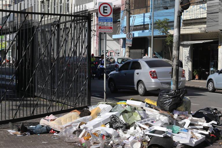Abandono no centro de São Paulo