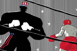 Sem Europa, China encara sozinha os EUA