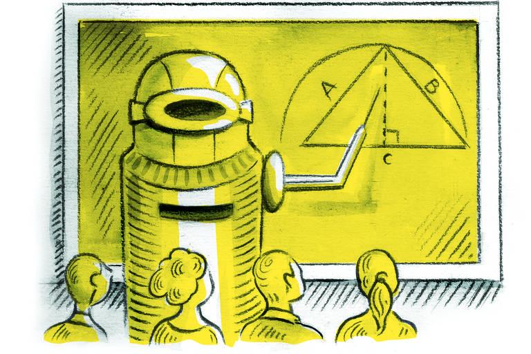 A era dos robôs, por Ricardo Cammarota