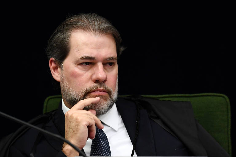 O ministro Dias Toffoli, do Supremo Tribunal Federal