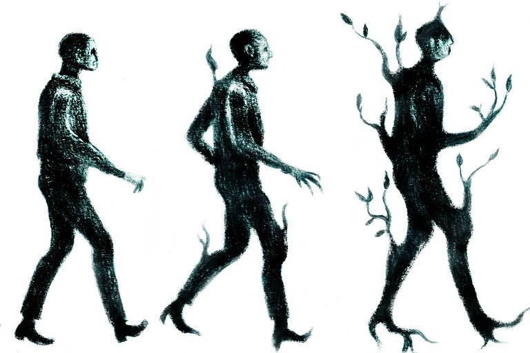 Ilustração de Ricardo Cammarota para a Ilustríssima