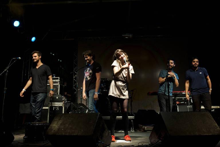 Show do grupo A Banda Mais Bonita da Cidade