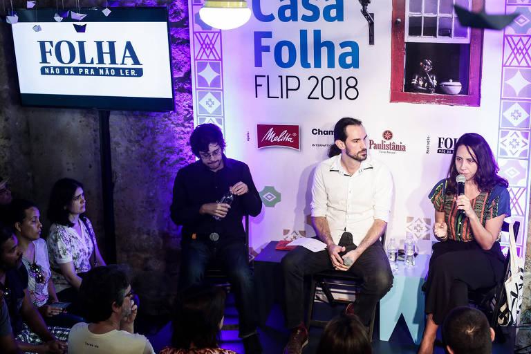2º dia da Casa Folha na Flip 2018
