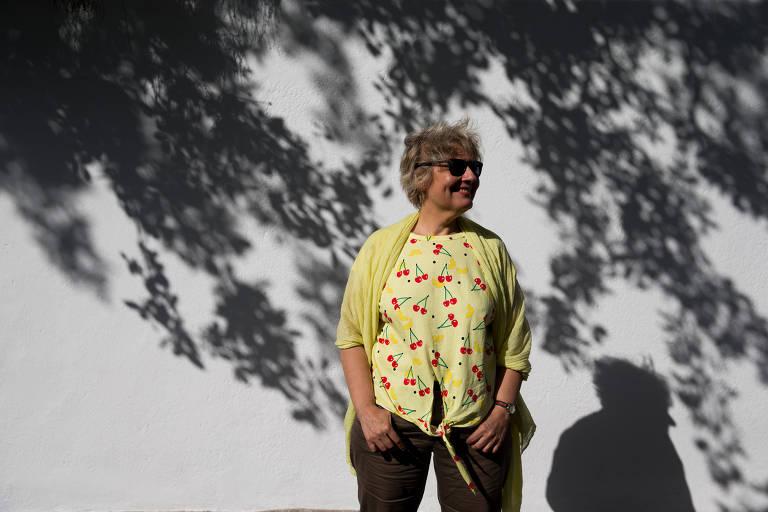 A escritora Isabela Figueiredo em Paraty para a Flip 2018