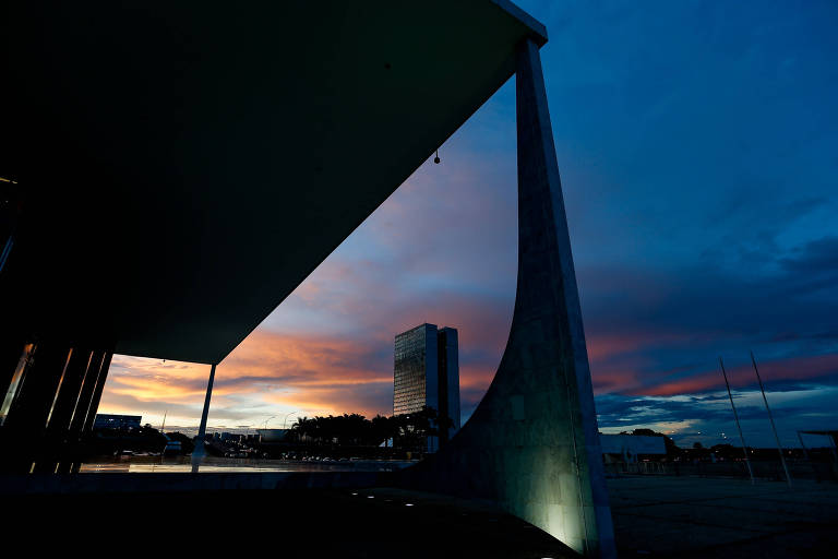 Vista da sede do STF, em Brasília
