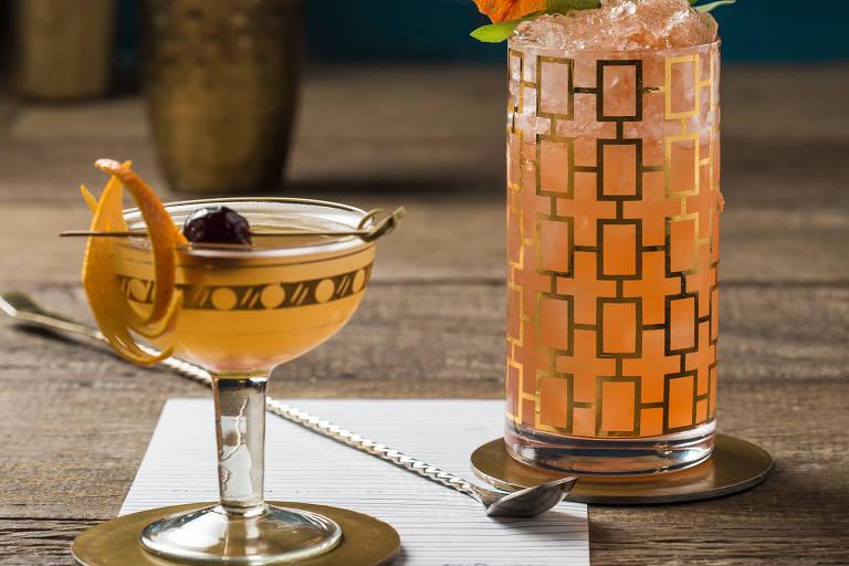 Drinques clássicos fazem do bar Fel a melhor novidade de SP