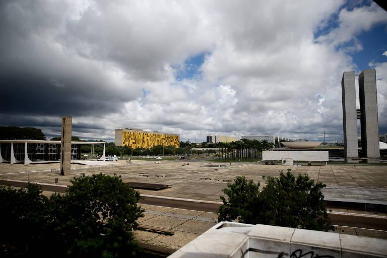 Praça dos Três Poderes, em Brasília, em 2018