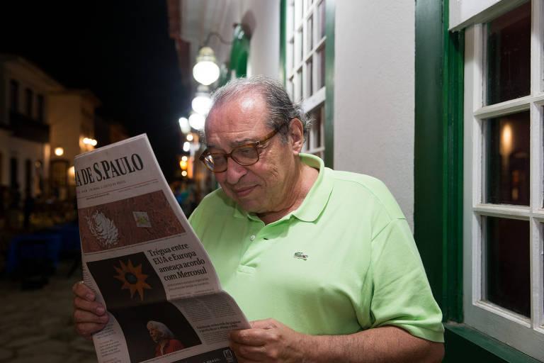 O colunista da Folha Ruy Castro