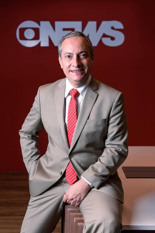 O jornalista José Roberto Burnier terá um programa matinal na GloboNews