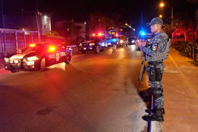 Tiroteio deixa ao menos cinco mortos em região próxima a Cancún