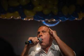 O candidato ao governo de São Paulo, João Doria