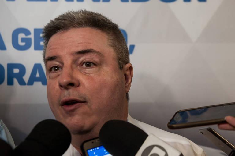 O senador Antonio Anastasia (PSDB), que lidera a pesquisa Datafolha de intenção de voto para o governo de Minas Gerais