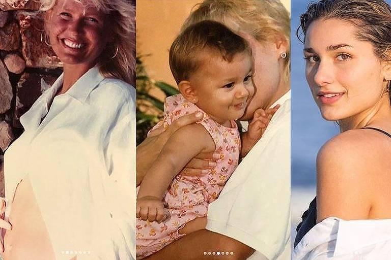 Xuxa relembra várias fases de Sasha em homenagem aos 20 anos da filha