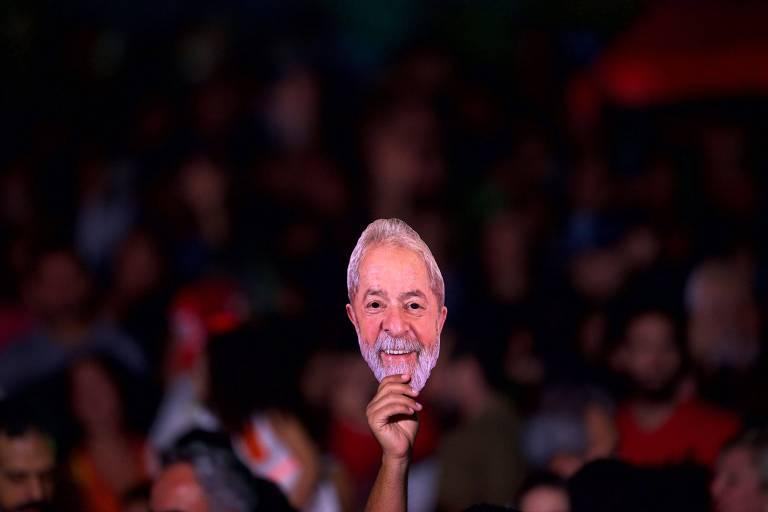 Festival Lula Livre, no Rio, em apoio ao ex-presidente