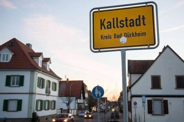O povoado de Kallstadt, na Alemanha