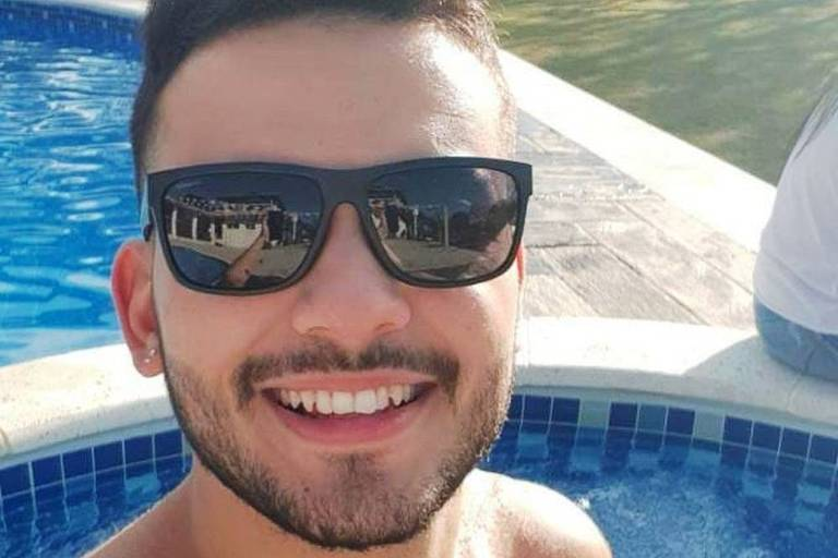 Lucas Martins de Paula, 21, espancado por seguranças numa boate em Santos, no litoral paulista