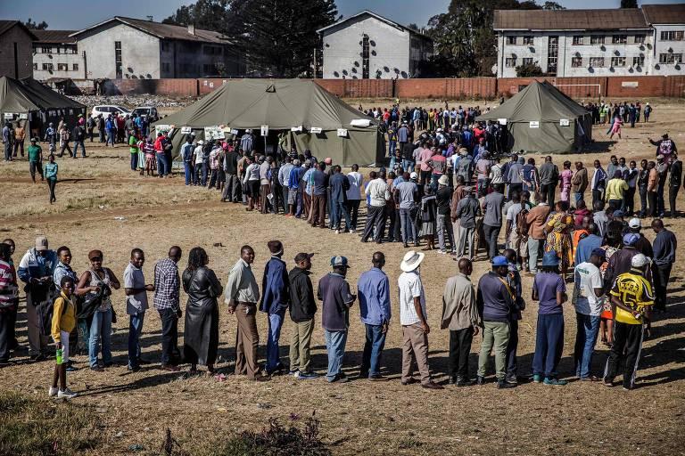 Eleição no Zimbábue