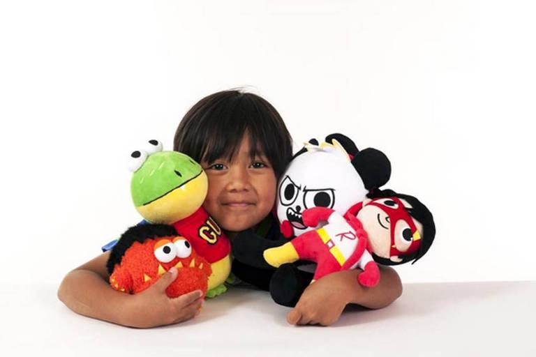 Youtuber Ryan apresenta a sua linha de brinquedos
