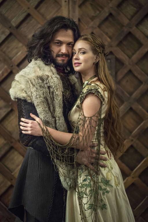Casamento de Amália (Marina Ruy Barbosa) e Afonso (Romulo Estrela)