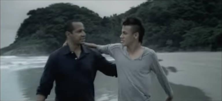 Neymar em ações publicitárias