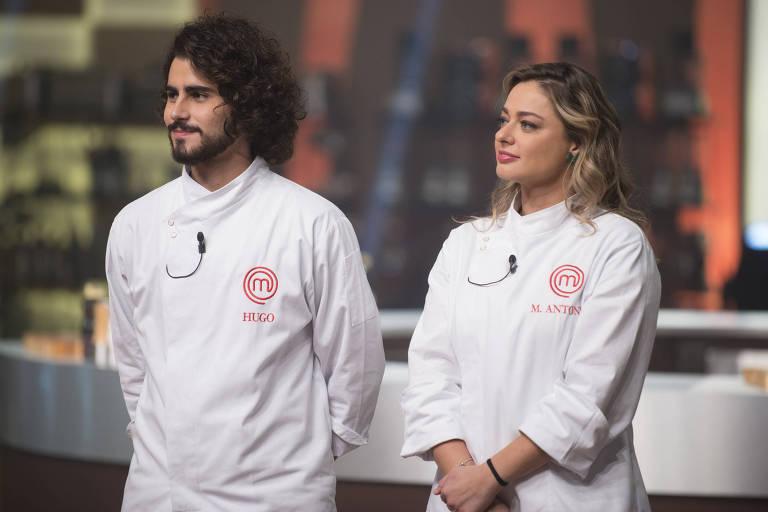Hugo e Maria Antonia na disputa pelo título do atual MasterChef