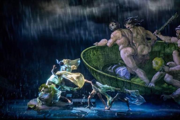 Espetáculo em Roma revela segredos da Capela Sistina (foto: Divulgação )
