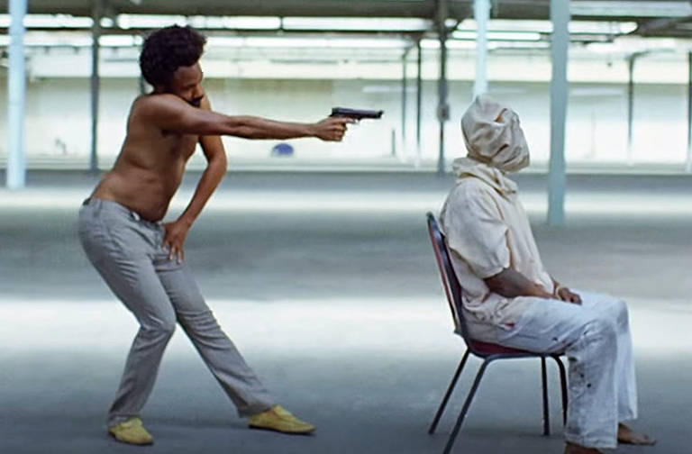 """10. Childish Gambino, """"This Is America"""" (dir. Hiro Murai, 2018)"""