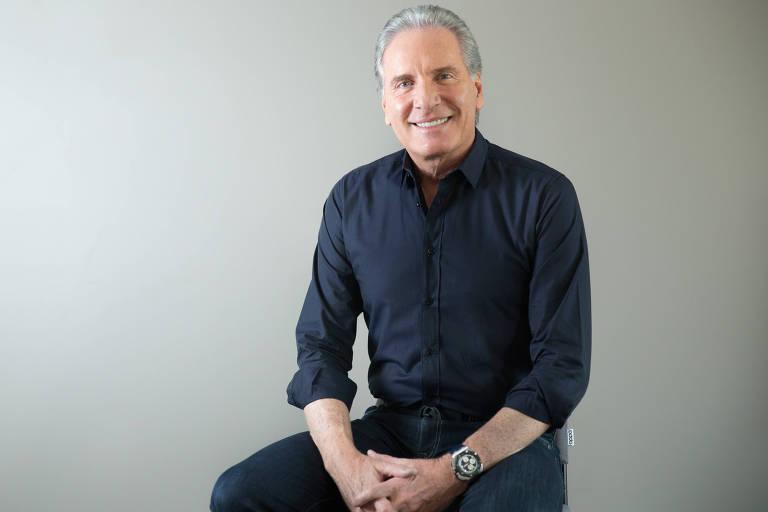 O publicitário, empresário e apresentador de televisão, Roberto Luiz Justus