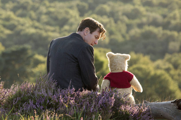 Ewan McGregor em cena de 'Christopher Robin'