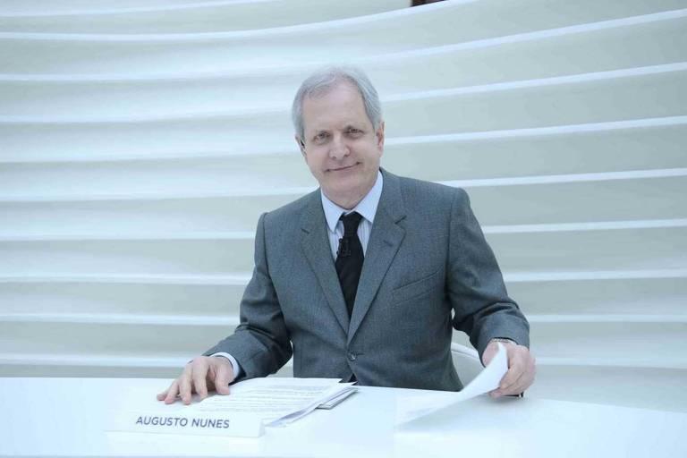 Augusto Nunes, que foi âncora do programa Roda Viva até março deste ano
