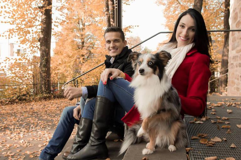 A advogada Tatiane Spitzner, morta em julho de 2018, e o marido Luis Felipe Manvailer